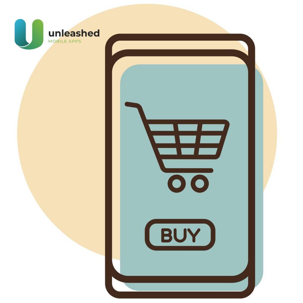 mobile app shopping cart