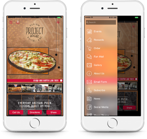 Mobile apps are a great way to share your business restaurant menus