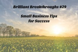 Great podcast with tips for the small business owner - invest in yourself!