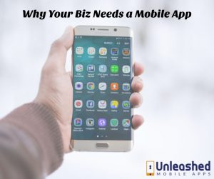 Explains 5 reasons how a business can benefit from mobile apps