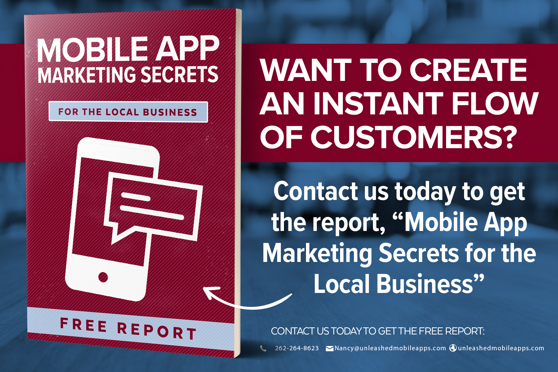 Get a flow of customers using mobile application technology for your business