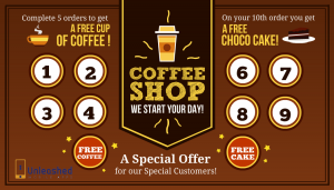 Use loyalty cards to reward your loyal customers - digitally