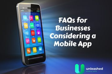 Check out these FAQs when developing a mobile app